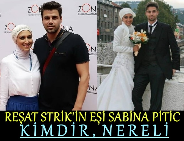 Reshad Strik'in eşi Sabina Pitic kimdir
